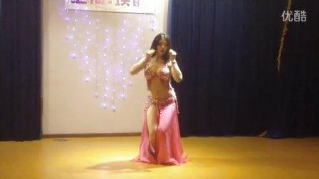 上海洛拉肚皮舞短期教练培训-朵朵老师(baladi)