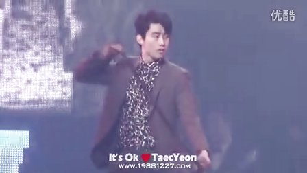 ≮It's Ok≯140810 JYPN in Seoul.I'M YOUR MAN.Taec Ver.