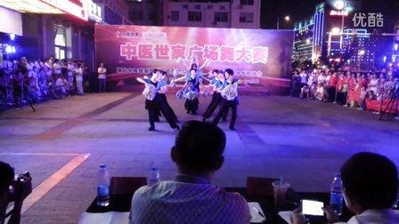 烟台芝罘黄务官庄社区妈妈舞蹈队《次真拉姆向前冲》广场舞串烧--中医世家参赛节目
