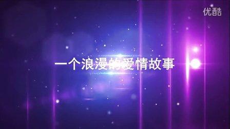 AE模板 会声会影X6X7模板 韩式婚礼震撼片头 电子相册模板 高端片头片尾