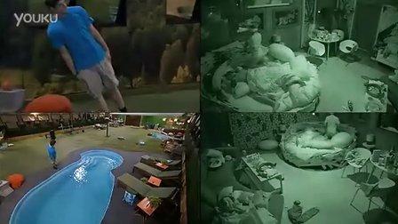 Zach跳水Frankie飞身下楼