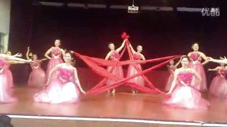 2014胶州老年大学舞蹈《党的生日 》
