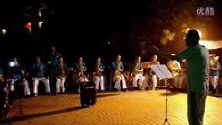SAM_0723英贝艺术培训中心管乐队参加朝阳区朝阳园社区消夏晚会