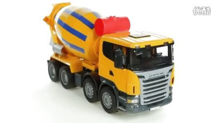 【福来英语儿歌】Scania R-Series Cement Mixer