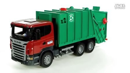 【福来英语儿歌】Scania R-Series Garbage Truck