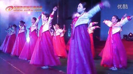 2014年深圳舞蹈网暑期汇报演出节目民族舞班学员展示《希望》