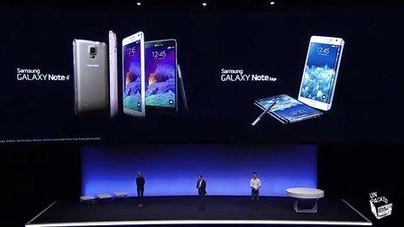 三星 GALAXY Note 4 柏林发布会