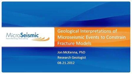 约束裂缝模型微震事件的地质解释-MSI
