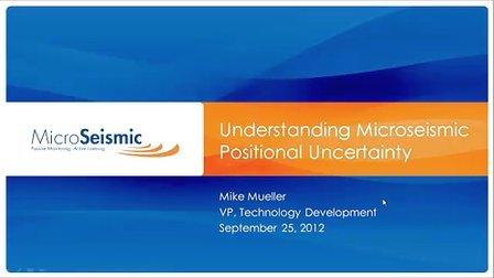 微震定位不确定性-MSI