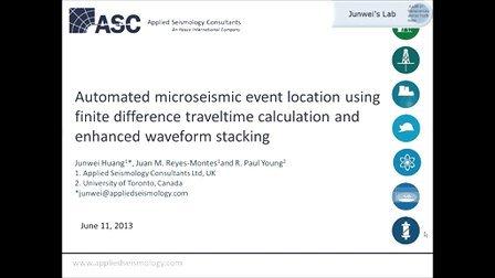微震事件自动定位-ASC