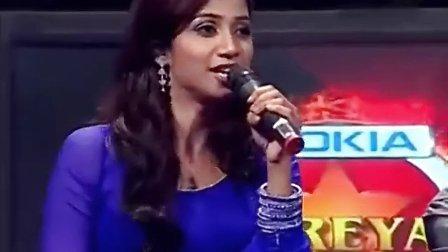 Shreya Ghoshal 现场献唱