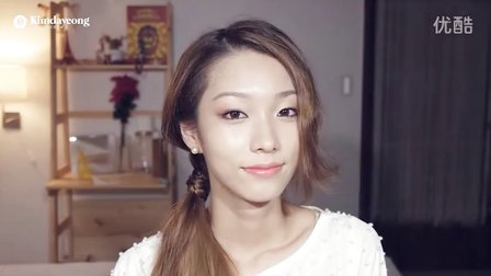 kara仿妆 很温柔的一个妆