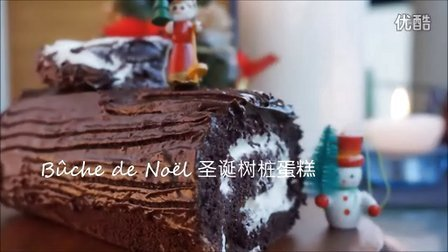 法国圣诞树桩蛋糕bûche de Noël  圣诞特辑