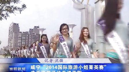 """""""2014国际旅游小姐菁英赛""""选手巡游活动走进崇阳"""