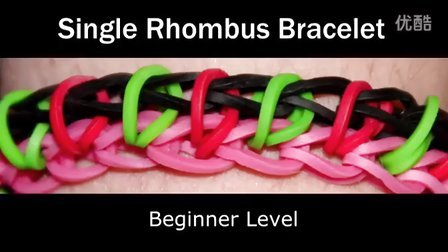 33 Rainbow Loom® 单菱形手链彩虹织机手链视频教程