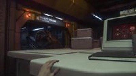 恐怖游戏《异形:隔离》淡定流程解说 第二期:异形的瞬杀!
