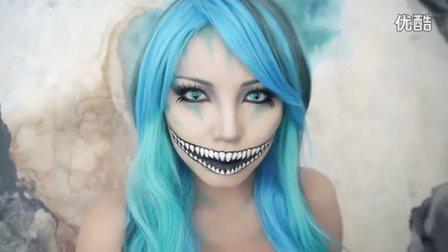 【Youtube奇趣精选】万圣节化妆达人教你化出邪恶女王妆