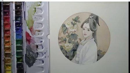 手绘水彩古风插画公开课