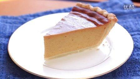 《宅男美食》第77集美国传统南瓜派做法(Pumpkin Pie)