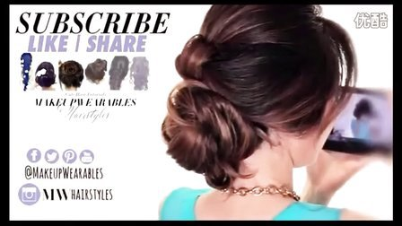【Elegant Touch雅致格调】6款可爱发型美发教程 扎头发教程 2分钟搞定简单中长发发型