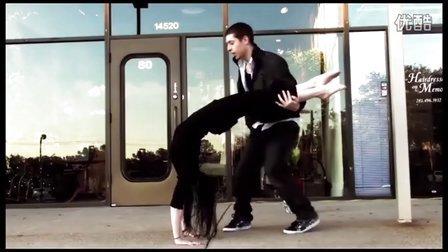 【粉红豹】编舞大师pacman和女友合作:《简单的美丽》lastyle_poppin_hiphop