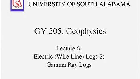 第6讲 伽马测井曲线