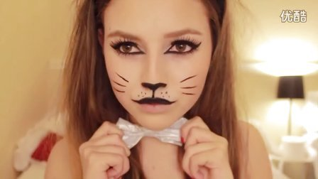 [Nathalie Paris] 性感猫咪万圣节妆容 - Cat Halloween Makeup Tutorial♡