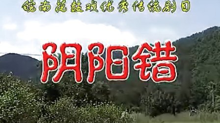 反修:皖南花鼓戏《阴阳错》(全本)