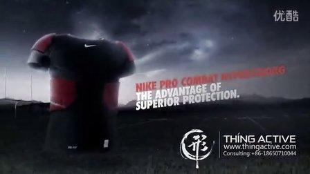 ThingActive形动视觉-耐克运动服创意CG产品宣传广告TVC