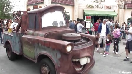 加州冒险之汽车总动员 Cars Land at California Adventures