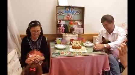 下集 2014年阳阳5岁+艾丰3岁生日,潇潇迎送来狗狗生日蛋糕和彩虹饼干
