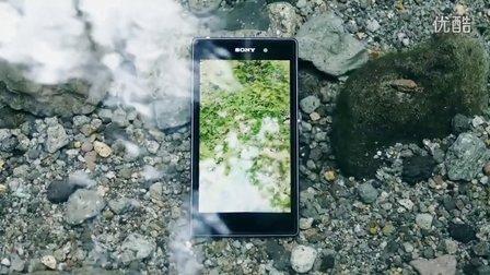 索尼手机创意广告_ 大森 Water Rock