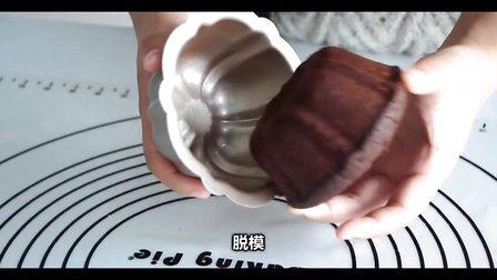 梅花巧克力蛋糕