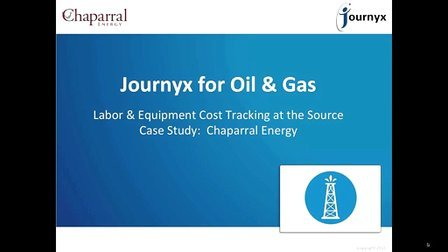Labor & Equipment Cost Tracking for Oil and Gas Explained, featuring Chaparral E