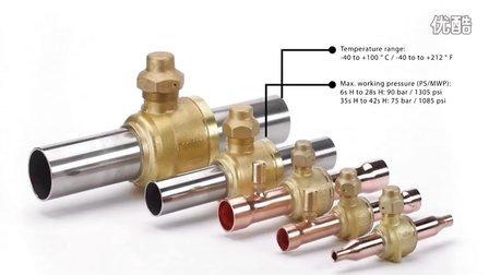 丹佛斯适用于二氧化碳制冷剂的双向流球阀