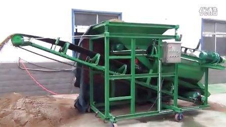 华晨KASHIN HR1478 滚筒筛沙机作业视频