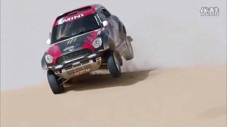 2015 MINI ALL4 Racing 达喀尔拉力赛车奥兰多拉诺瓦队越野驾驶展示