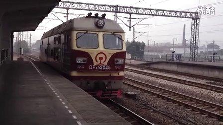 K149次 上海南—湛江 金华站挂车 DF4D3045