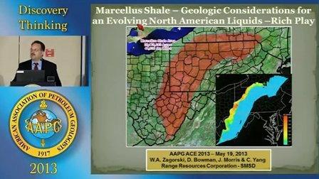 Marcellus页岩油地质评价因素
