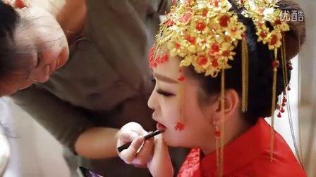 2014.10.15婚礼  福安公主嫁到 彩妆秀影像团队 微电影  跟妆 婚礼视频 MV
