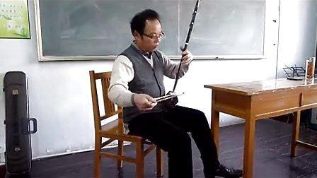 二胡教学独奏《金珠玛米赞》老年大学张老师 (2014年11月18日)P1080719_高清