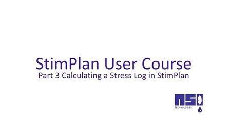 第3课 在StimPlan中计算应力曲线