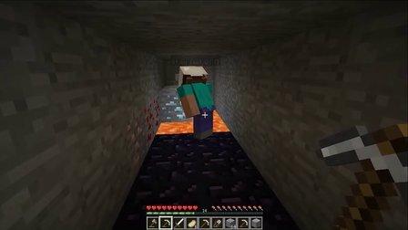 大海解说mc 我的世界 生存实况第三期 挖到钻石啦!