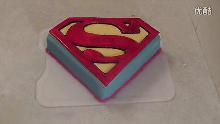【大吃货爱美食】Superman Man Steel Cake 141126