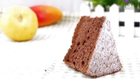 《范美焙亲-familybaking》第一季-155 可可戚风蛋糕