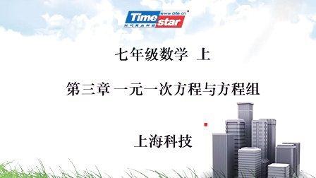 上海科学技术出版社数学七年级上第3章二元一次方程组习题