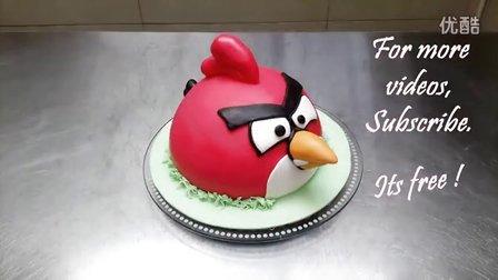 【大吃货爱美食】愤怒的小鸟什么的做成蛋糕最好吃了 141201