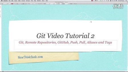 Git Video Tutorial 2