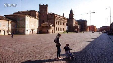 【瑰意游踪】Carpi, 在意大利第三大广场上骑单车