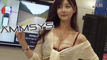斗鱼韩国主播崔瑟琪早期写真视频:2014首尔车展